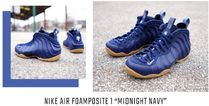 "エアフォームポジットNIKE AIR FOAMPOSITE ONE ""MIDNIGHT NAVY"""