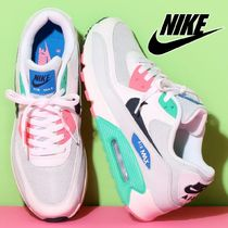 【大人もOK!関税なし】NIKE AIR MAX 90 LEATHER CASUAL SHOES