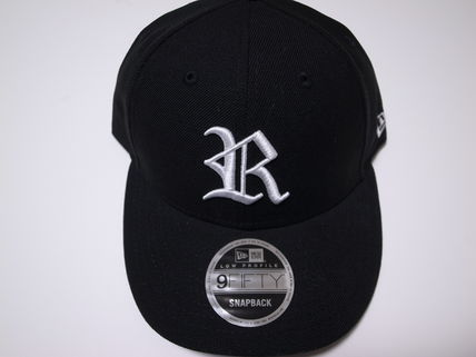 19SS RHC ロンハーマン New era for RHC Cap R LOGO 黒