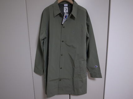 19SS RHC ロンハーマン Champion for RHC COAT GREEN S