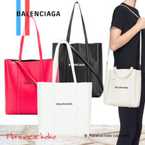関税込み国内発送 BALENCIAGA☆EVERYDAY XS LEATHER TOTE