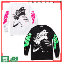 FLAGSTUFF Dream and reality L/S Tee ロングスリーブ 関送込