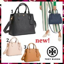 新作 セール Tory Burch Robinson Triple Compartment Tote 2Way