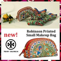 セール 新作 Tory Burch Robinson Printed Small Makeup Bag