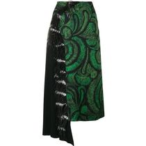 SALE!!【Dries Van Noten】asymmetric midi skirt