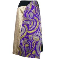 SALE!!【Dries Van Noten】printed pencil skirt