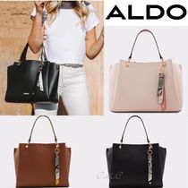 ALDO*スタイリッシュ*バイカラーパイソン柄チャーム付*2WAY/Nusz