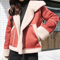 【Dress fly】【レディ】 Suede Mustang Jacket (mouter1056)