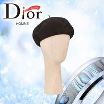 2019SS 新作【Dior】BERET DIOR ETOILE EN MAILLE ベレー帽子