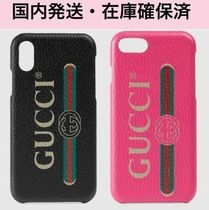 ★Gucci★*関税・送料込*iphone Cover X/XS/8 Gucci Print