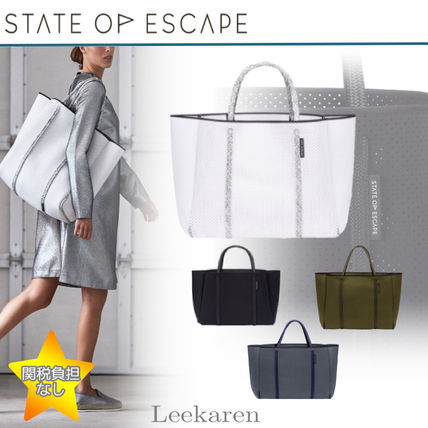 State of Escape トートバッグ State of Escapeたっぷり収納!軽くて丈夫Cityscape mark II tote