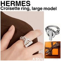 【HERMES】Croisette ring, large model ギフトボックス