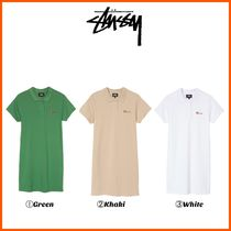 最新作!! ☆STUSSY☆ MURIEL POLO MINI DRESS
