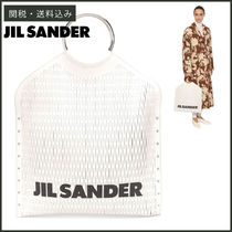 【JIL SANDER】 SQUARE TOTE BAG トートバッグ SALE