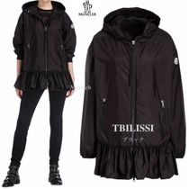 VERY掲載!★MONCLER★19SS 裾フリル♪ナイロンコート TBILISSI