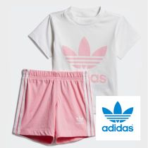 adidas☆2−4years☆TREFOIL SHORTS TEE SET