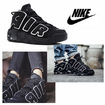 大人もOK!! NIKE ナイキ AIR MORE UPTEMPO 2016 GS BLACK