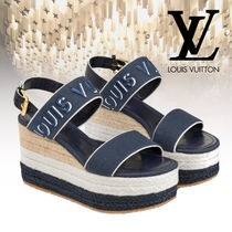 Louis Vitton 19SS【直営店】COMPENSEE HARBOUR サンダル 青