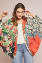 【Anthropologie】新作!可愛いDylan Floral Cocoon羽織/ガウン