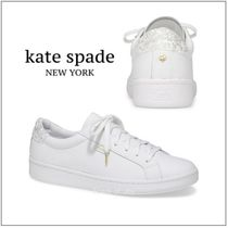 新作★keds x kate spade leather and glitter スニーカー★