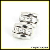 送料関税込☆Philippe Audibert☆CLIP STRASS DELLYAピアス