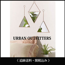 Urban Outfitters 壁掛け 鏡 ミラー セット 追跡送料関税込み