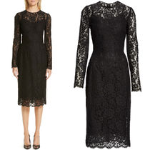 19SS DG1898 CODE LACE MIDI DRESS