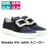 新着・関税込☆ROGER VIVIER☆SneakyViv satinslip-onスニーカー