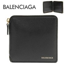 BALENCIAGA正規品/EMS発送/送料込み  Square zip round wallet