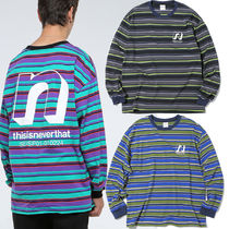 ★thisisneverthat★ N Striped L/SL Top  3色