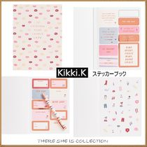 ◇Kikki.K◇1冊で150種類/ステッカーブック/There she is
