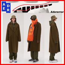 ★韓国の人気★【ADERERROR】★Basic Single Coat★KHAKI★
