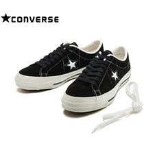 ☆国内正規品 要在庫確認☆CONVERSE ONE STAR J SUEDE BLACK