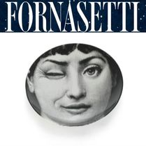 *FORNASETTI*Wall Plate Tema e Variazioni ウィンク 国内発送