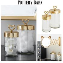 Pottery Barn☆The Emily&Meritt Beauty Jars, Set of 2☆税送込