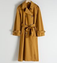 """""""& Other Stories"""" Belted Trench Coat Camel"""