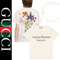 GUCCI Tシャツ Chateau Marmont フラワー バック プリント 新作