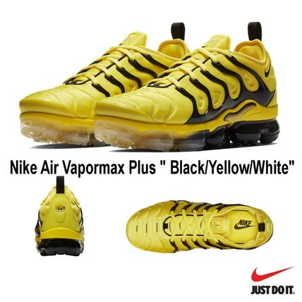 new product 67198 d70c9 ナイキ* Nike Air Vapormax Plus ベイパーマックス * YELLOW *