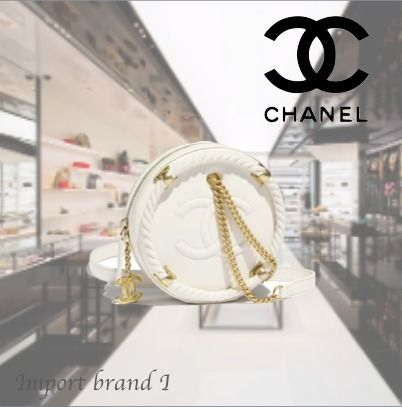 824e37b5a109 CHANEL ショルダーバッグ・ポシェット  CHANEL Small round bag Crumpled calfskin