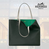 【19SS】HERMES/エルメス Sac Double Sens 45 touch vert fonce