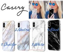 【話題沸騰】Casery*Marble*大理石*iPhone XS Max,XR*WhiteBlack