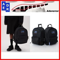 ★韓国の人気★【ADERERROR】★Twin Shoulder Backpack★BLACK★