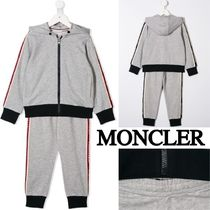 1d5efb5d873ae MONCLER(モンクレール) キッズスポーツウェア 関税・送料込 MONCLER キッズ ロゴ入り スエット