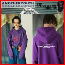 ANOTHERYOUTH(アナザーユース) パーカー・フーディ ★韓国の人気★【ANOTHERYOUTH】★Zipper Hoodie★PURPLE★