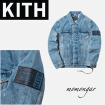 [KITH x Levi's] MITCHELL PAINT SPLATTER TRUCKER JACKET