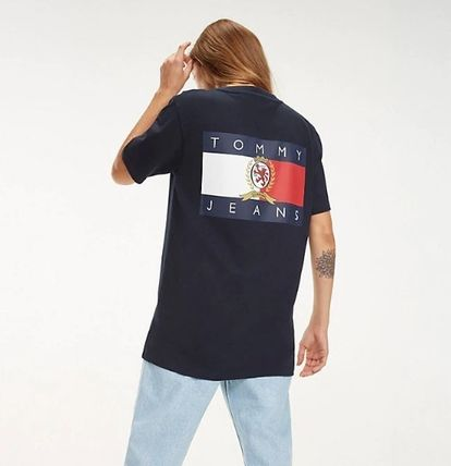 Tommy Hilfiger Tシャツ・カットソー 【Tommy Jeans】フラッグロゴ プリントTシャツ (関税送料込)(3)
