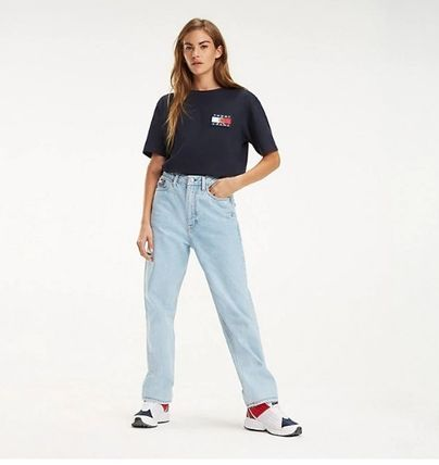 Tommy Hilfiger Tシャツ・カットソー 【Tommy Jeans】フラッグロゴ プリントTシャツ (関税送料込)(5)