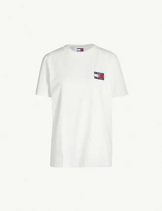 Tommy Hilfiger Tシャツ・カットソー 【Tommy Jeans】フラッグロゴ プリントTシャツ (関税送料込)(7)