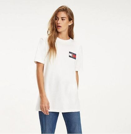Tommy Hilfiger Tシャツ・カットソー 【Tommy Jeans】フラッグロゴ プリントTシャツ (関税送料込)(8)