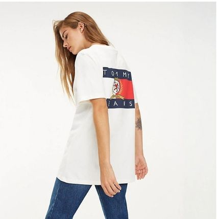 Tommy Hilfiger Tシャツ・カットソー 【Tommy Jeans】フラッグロゴ プリントTシャツ (関税送料込)(10)